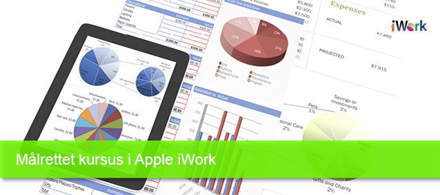Målrettet kursus i Apple iWork