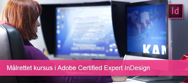 Målrettet kursus i InDesign Adobe Certified Expert