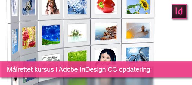 Målrettet kursus i InDesign CC opdatering