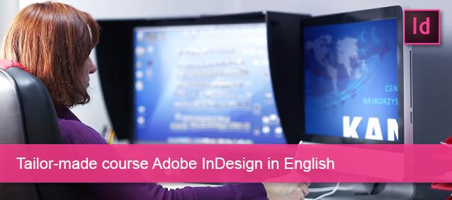 Tailor made kursus i Adobe InDesign English
