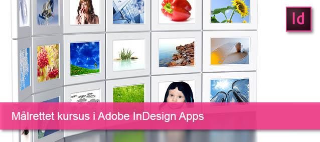 Målrettet kursus i Adobe InDesign Apps
