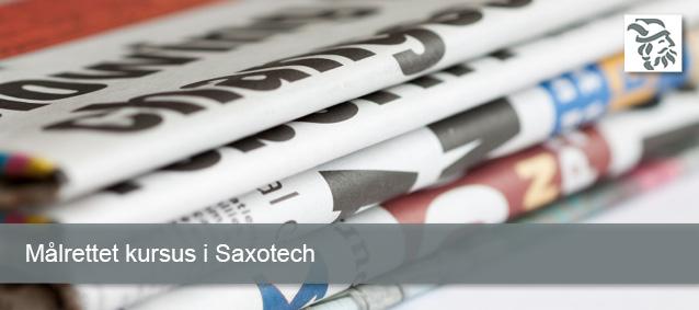 Målrettet kursus - Saxotech