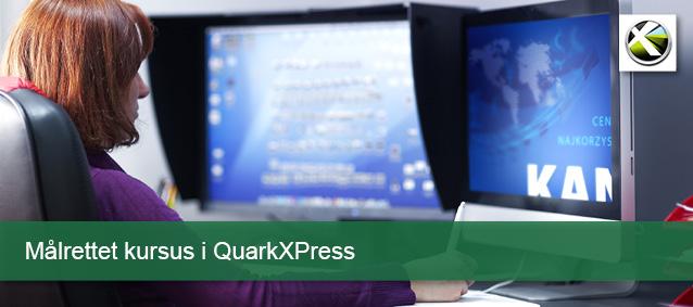 Målrettet kursus - QuarkXPress