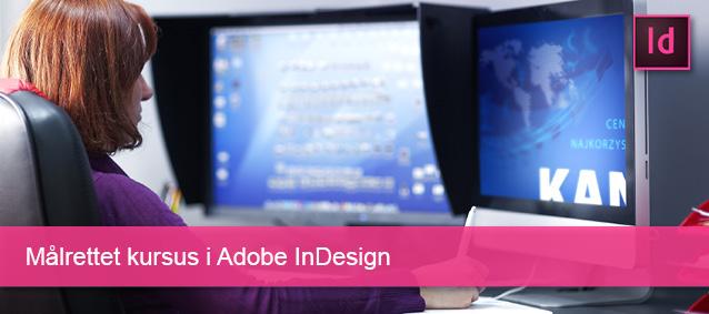 Målrettet kursus i Adobe Indesign