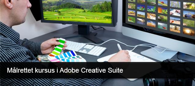 Målrettet kursus i Adobe Creativ Suite