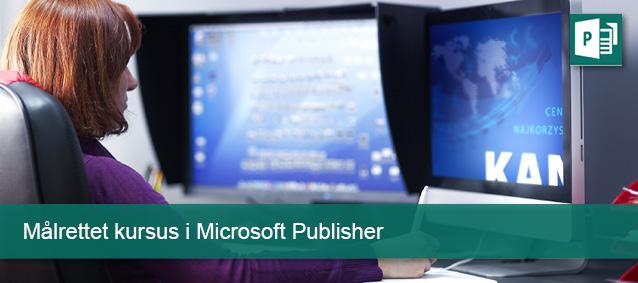 Målrettet kursus i Microsoft Publisher