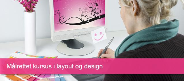 Kursus i layout og design