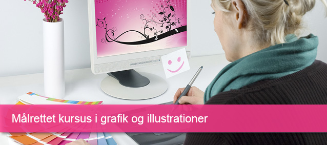 Kursus i grafik og illustrationer