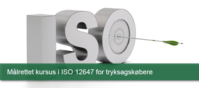 Målrettet kursus ISO 12647 for tryksødkøbere
