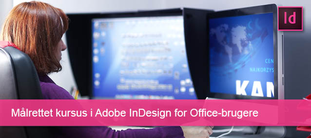 Målrettet kursus i InDesign_Office-brugere