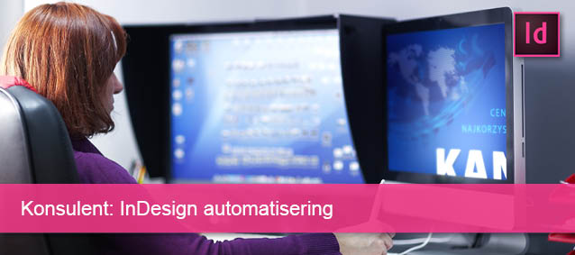 Konsulent InDesign automatisering