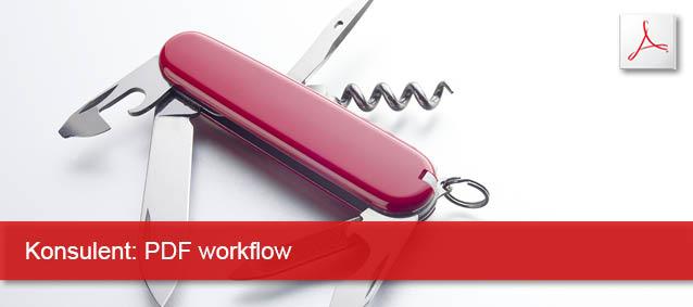 Konsulent PDF workflow