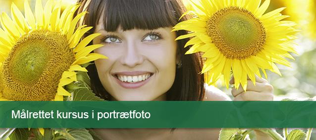 Målrettet kursus i portrætfoto